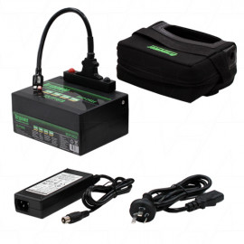Golf Buggy / Caddy 12v 18Ah Lithium Battery & Charger Kit