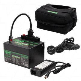 Golf Buggy / Caddy 12.8v 25.2Ah Lithium Battery & Charger Kit
