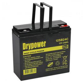12SB24C Drypower 12V 24Ah Sealed Lead Acid Battery