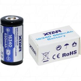 XTAR 16340 Lithium Ion