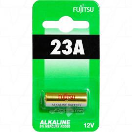 23A, LR23A  L1028 FUJUTSU 12V Alkaline Battery Replaces 1811A, 23A, LR23A