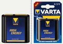 Varta 4.5v 3LR12, 4912, 4012 Alkaline Five PacK, Duracell Plus,MN1203,3LR61