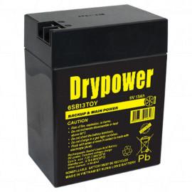 Drypower 6V 13Ah Sealed Lead Acid Battery Ride on Car