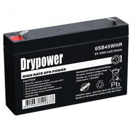 6SB45WHR DRYPOWER UPS BATTERY 6v repl UP-VW0645P1