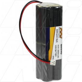 R/C Hobby Battery Pack 9.6v High Capacity