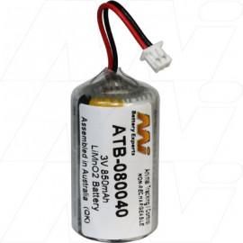 Anti-bark collar battery