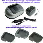 Charger Adapter Plate VBL226 Sharp BT-L226 Sharp BT-L227