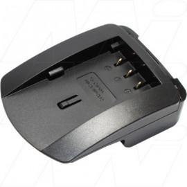 DCC1 charger adaptor plate for Canon BP2L12, BP2L13, BP2L14, BP-2L24H, BP2L5, NB-2L, NB-2LH batteries