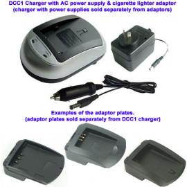 Charger Adapter Plate Ricoh DB-50, Kodak KLIC-8000, Master DCB-DB50 batteries