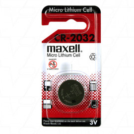 CR2032-BP1(M) Maxell Consumer Lithium Battery Coin Cell