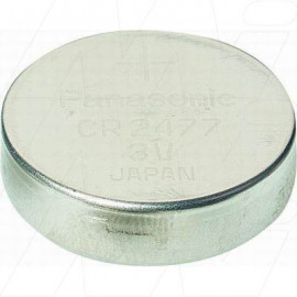 CR2477 Panasonic Lithium Coin Cell Beacon battery - supplied in bulk
