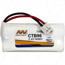Battery Replacement Telstra 89-1326-00-00 Telstra BT184342 Telstra BT284342 Uniden BT-694 V-Tech 89-1326-00-00 V-Tech BT184342 V-Tech BT284342