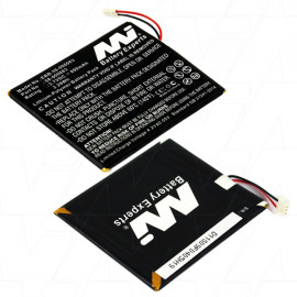 Battery for Amazon Kindle 7/8 Generation eBook Reader