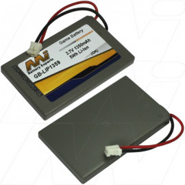 Battery replacement for Suitable For:Sony PS3 Six Axis and PS3 DualShock controllers Compatible With:Sony LIP1359, LIP1859, MK11-2902, MK11-3023 batteries