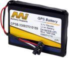 Mitac Mio Battery - Moog- 200Mitac Mio Moov 210, Mitac Mio N370,Mitac Mio Moov 200e,Mitac Mio Moov 200u, Mitac 338937010159,Mitac 780914QN, Navman S150, Navman S10