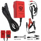6V / 12V 1.0A 7 Step Fully Automatic Lead Acid Battery Charger