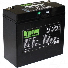 Drypower 12.8V 20Ah Lithium Iron Phosphate (LiFePO4)