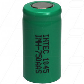 IMH-750AAS 2/3AA size 750mAh industrial grade NiMH cylindrical battery