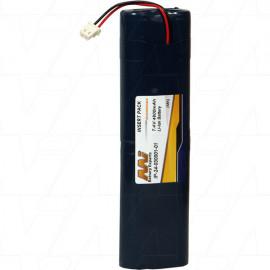 Battery replaces Topcon 24-030001-01, EPG-0620-1, L18650-4TOP. Suitable for Topcon Hiper Ga, Hiper Gb, Hiper Lite Plus, Hiper Pro, Hiper-L1, Javad Triumph-1 GNSS Receivers