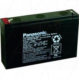 Panasonic 6v 7.2Ah,LC-R067R2P