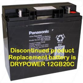Panasonic 12v 21Ah, LC-XC1221P
