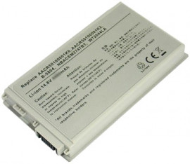High capacity battery compatible with Advent 7038, TPG W720-44LA, Emachines M5000 series & Medion MD40200, MD40700, MD40888, MD42792.