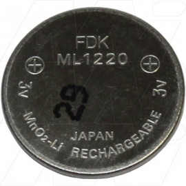 ML1220 FDK Rechargeable Lithium Coin Cell Battery