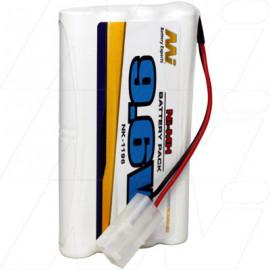 R/C 9.6V Hobby Battery Pack