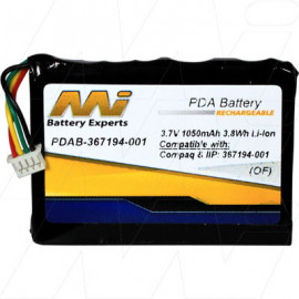Replacement battery suit Compaq iPAQ rz1710 Compaq iPAQ rz1715 	Compaq iPAQ rz1717 HP iPAQ rz1710 	HP iPAQ rz1715 HP iPAQ rz1717