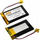 Palm IA3W822E1, Tungsten E, LiIon Polymer, 1400mAh, 3.7V, PDAB-IA3W822E1