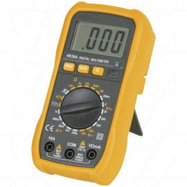 DIGITECH QM1527 - Bargain Multimeter Data Hold Digital with Backlight