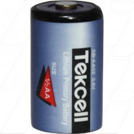 TEKCELL 1/2AA Lithium - MBU type