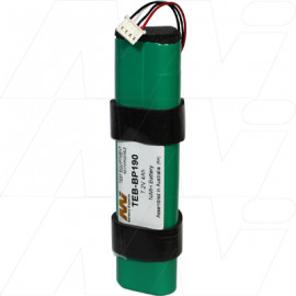 Battery for Fluke 192, 192B, 196, 196B, 196C, 199B, 199C, 433, 434, 435