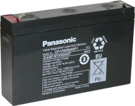 UP-VW0645P1 (UP-RW0645P1) Panasonic Sealed Lead Acid Battery for Standby, UPS, (CSB HRL 634W)