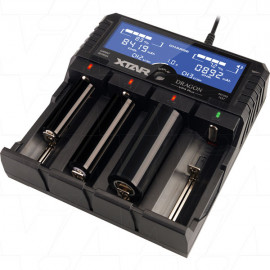 XTAR VP4 Plus DRAGON 1-4 Cell Lithium Ion/NiMH Battery Charger